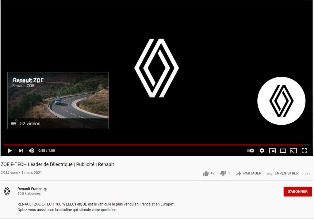 WTF Renault : un nouveau logo lancé en douce et une pub sur sa plus grosse vulnérabilité au vol