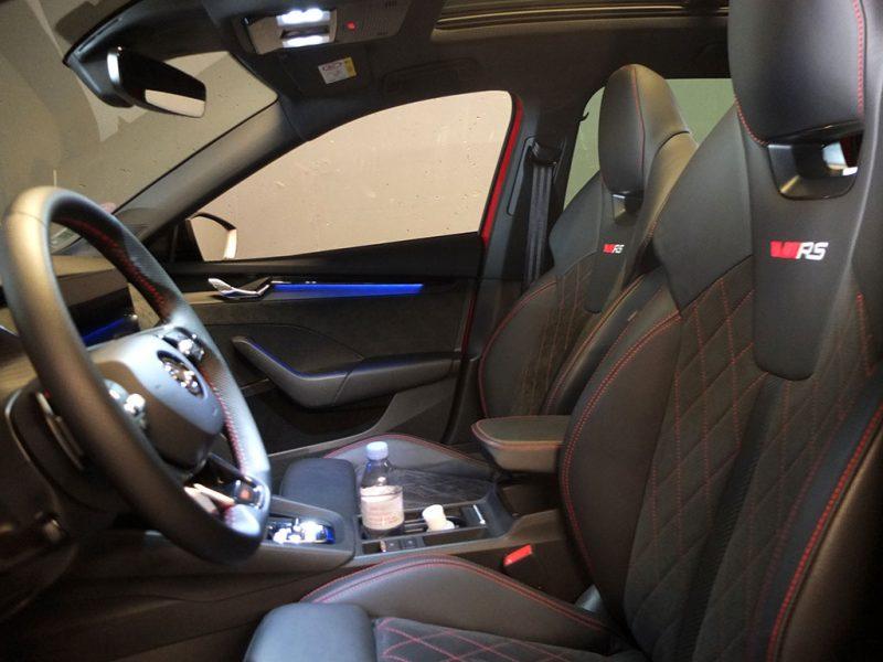 Essai Skoda Octavia RS - intérieur
