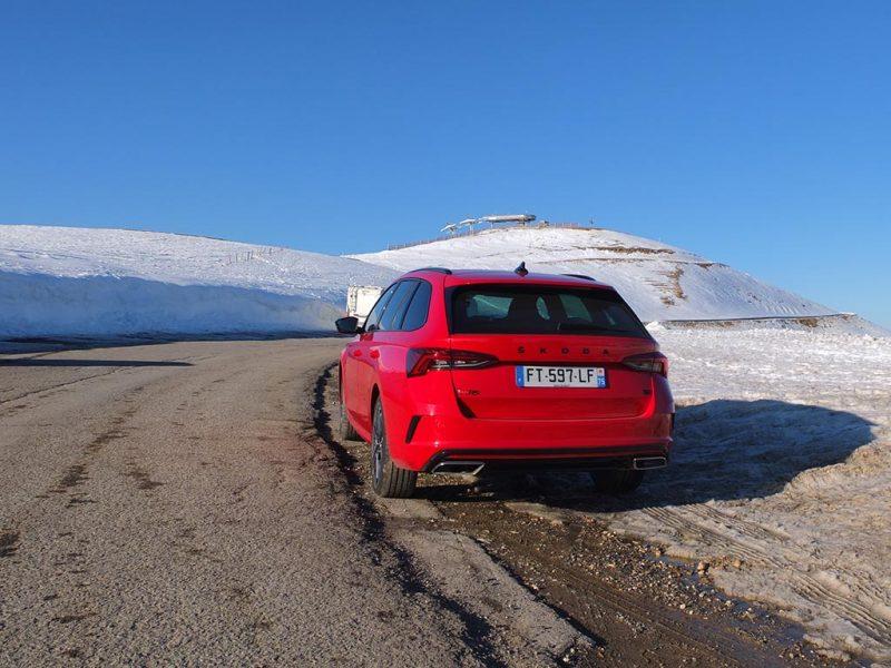 Essai Skoda Octavia RS iV Combi
