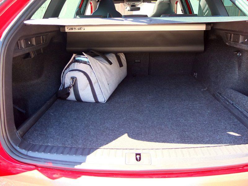 Essai Skoda Octavia RS Combi - coffre