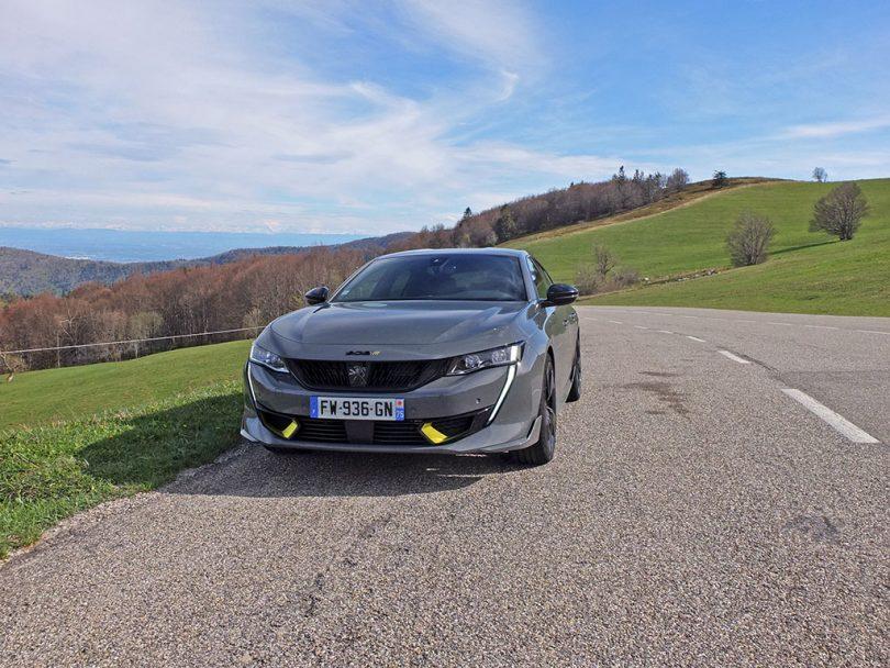 Essai de la Peugeot 508 PSE