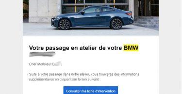 bmw dernier sav conccession mulhouse